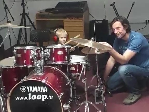 LOOP Glazbena klinika bubnjevi